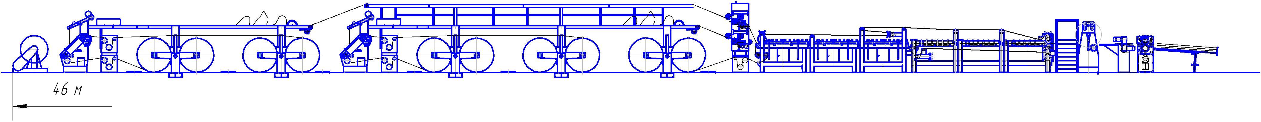 Схема охладителя сушильного оборудования